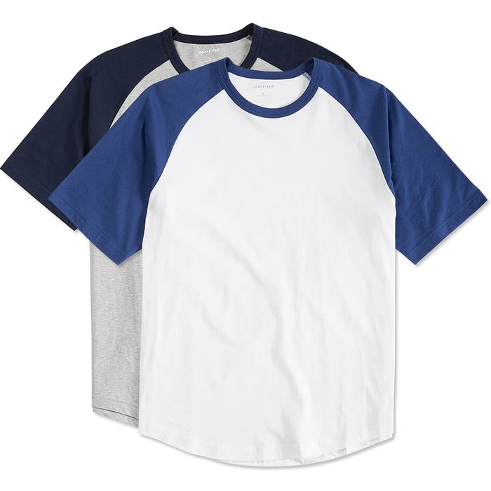 17da8b1f Custom Sport-Tek Short Sleeve Baseball Raglan - Design Baseball ...