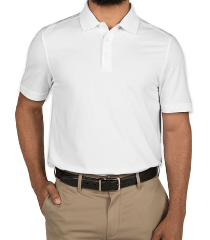Cutter & Buck Advantage Charged Cotton Polo - White