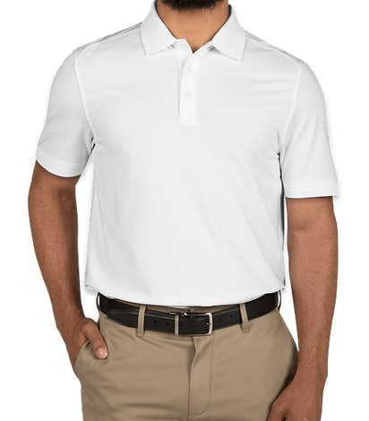 Cutter & Buck Advantage Charged Cotton Polo - White