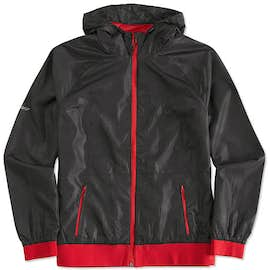 Sport-Tek Women's Embossed Full Zip Hooded Jacket