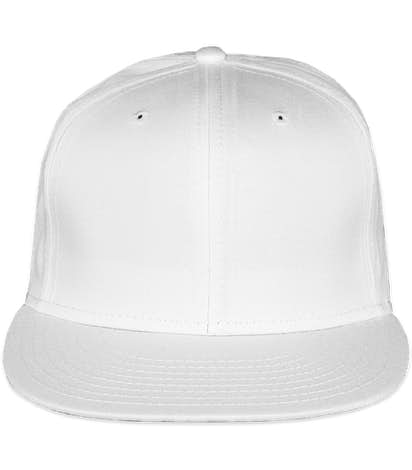 New Era 9FIFTY Flat Bill Snapback Hat - White