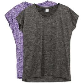 Sport-Tek Women's Electric Heather Performance Shirt