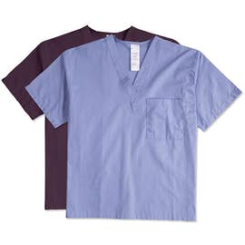 Harriton V-Neck Scrub Top