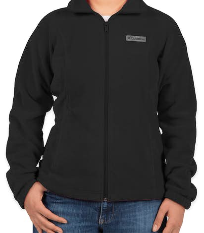 Columbia Women's Benton Springs Full Zip Fleece Jacket - Black