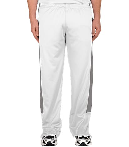 Team 365 Performance Warm-Up Pant - White/Sport Graphite
