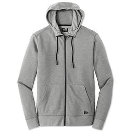 New Era Tri-Blend Zip Hoodie