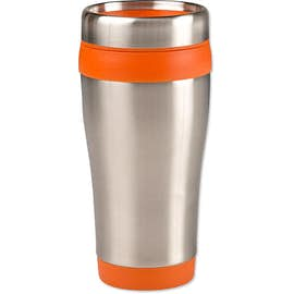 16 oz. Carmel Insulated Steel Travel Mug