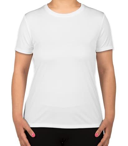 Hanes Women's Cool Dri Performance Shirt - White