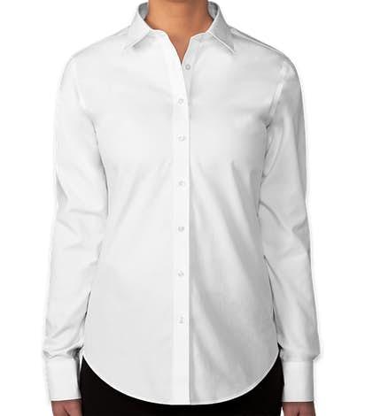 Brooks Brothers Women's Non-Iron Classic Dress Shirt - Classic White