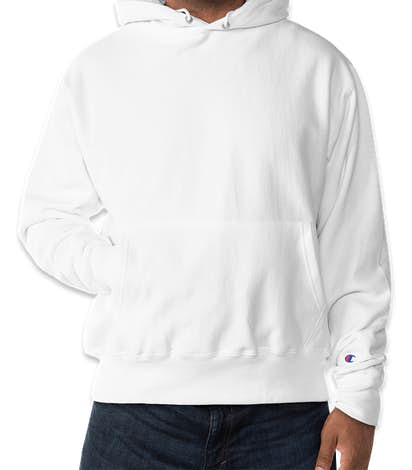 Champion Heavyweight Reverse Weave® Pullover Hoodie - White