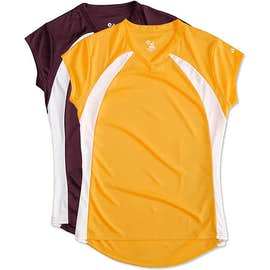 Badger Women's Colorblock Volleyball Jersey