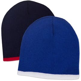 Sportsman Bottom Stripe Knit Hat