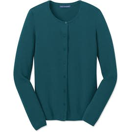 Port Authority Women's Full Button Cardigan Sweater