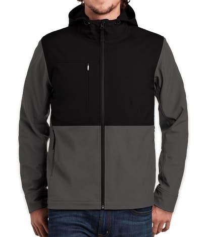 The North Face Castle Rock Hooded Soft Shell Jacket - Asphalt Grey