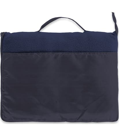 Fleece Travel Blanket - Navy