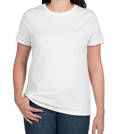 Hanes Women's Nano-T - White