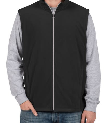 Port Authority Microfleece Vest - Black