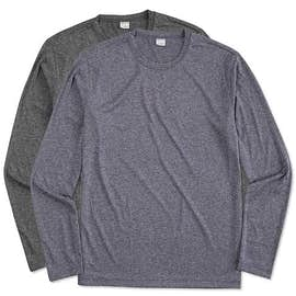 Sport-Tek Long Sleeve Heather Performance Shirt