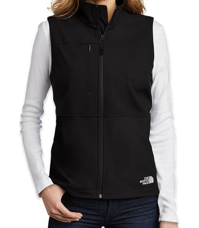The North Face Women's Castle Rock Soft Shell Vest - TNF Black