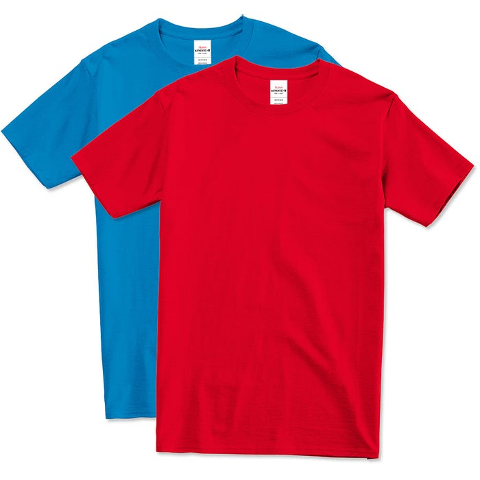 22265e8b7e0 Design Custom Printed Hanes Tagless T-Shirts Online at CustomInk