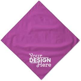 Augusta 100% Cotton Solid Bandana (Corner Design)