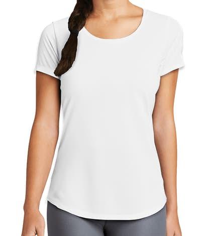 New Era Women's Series Performance Shirt - White