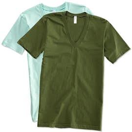 American Apparel Jersey V-Neck T-shirt