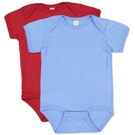 Rabbit Skins Jersey Baby Bodysuit