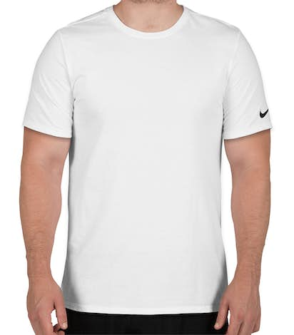 Nike 100% Cotton T-shirt - White