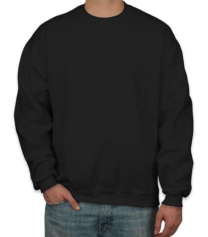 Jerzees Super Sweats® 50/50 Crewneck Sweatshirt - Black