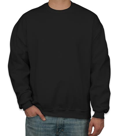 Jerzees Super Sweats® 50/50 Crewneck Sweatshirt - Black