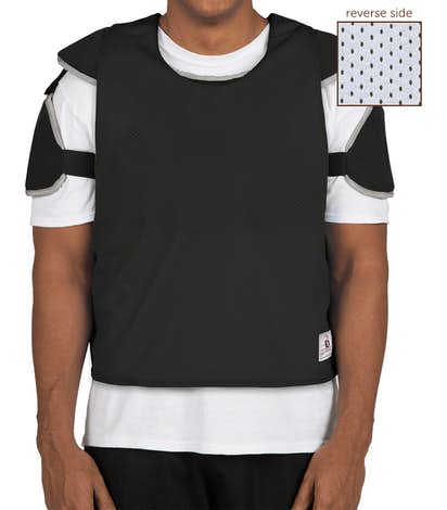 Badger Reversible Practice Pinnie - Black / White