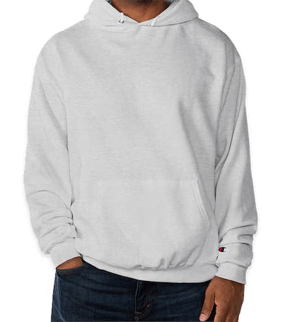 Champion Double Dry Eco Pullover Hoodie - Silver Grey