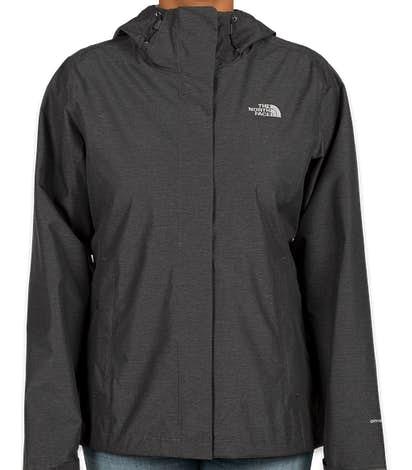 The North Face Women's Waterproof Windbreaker Jacket - Dark Grey Heather
