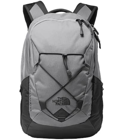 The North Face Groundwork Backpack - Mid Grey / Asphalt Grey