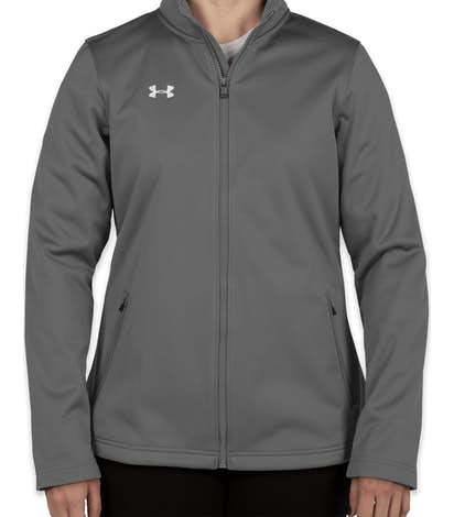 13075b9a87d Custom Under Armour Women s Ultimate Team Jacket - Design Soft Shell ...