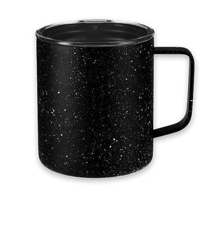 14 oz. Speckled Copper Vacuum Insulated Camper Mug - Black