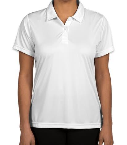 Team 365 Women's Zone Performance Polo - White