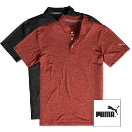 Puma Golf Heather Performance Polo
