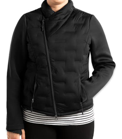 Canada - North End Women's Pioneer Hybrid Puffer Jacket - Black