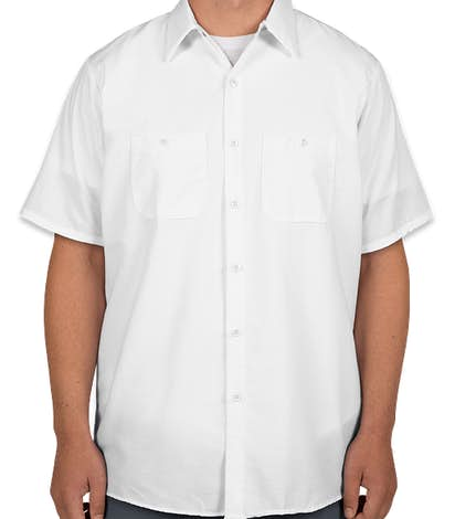 Canada - Red Kap® Industrial Work Shirt - White
