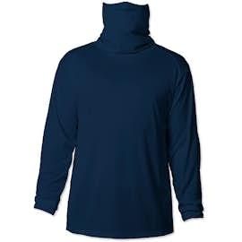 Badger Long Sleeve Performance Shirt with Gaiter