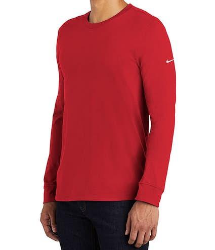 Custom Nike 100% Cotton Long Sleeve T-shirt - Design Long Sleeve T ... 328d5d36248b
