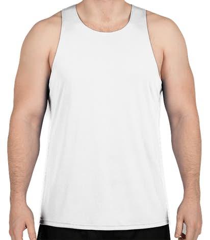 Gildan Performance Singlet Tank - White