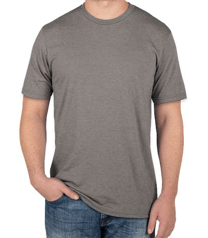 District Tri-Blend T-shirt - Grey Frost