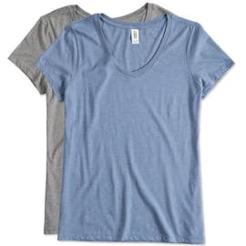 District Made Women's Tri-Blend V-Neck T-shirt