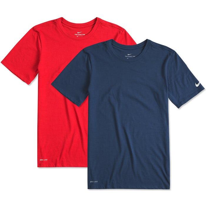 5f9cd874 Custom Nike Dri-FIT Performance Blend Shirt - Design Performance ...