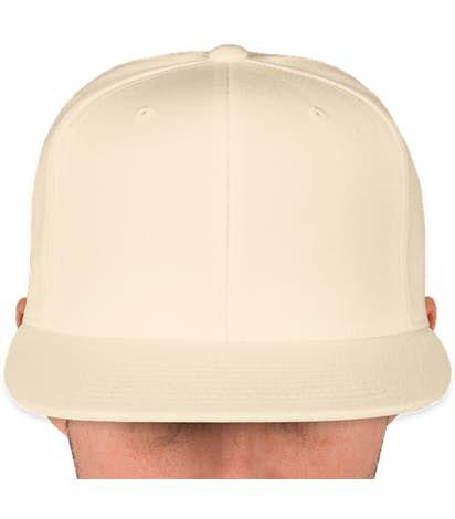 Canada - Yupoong Flat Bill Snapback Hat - Natural