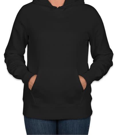 Sport-Tek Premium Women's Pullover Hoodie - Black
