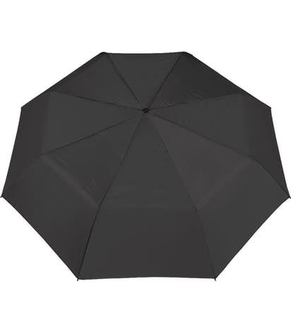 """Arc Budget Solid Telescopic 42"""" Umbrella - Black"""